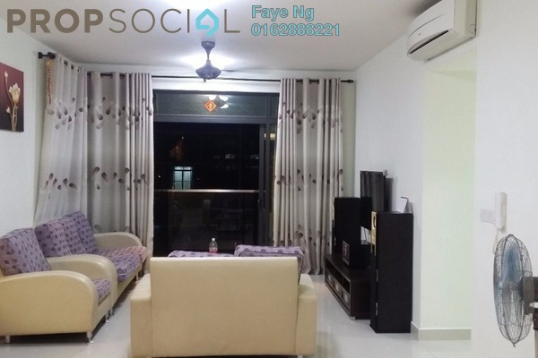 For Sale Condominium at The Z Residence, Bukit Jalil Freehold Fully Furnished 3R/2B 750k