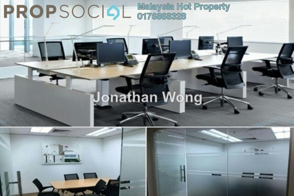 For Rent Office at Wisma Volkswagen, Bangsar Freehold Fully Furnished 1R/1B 7.5k