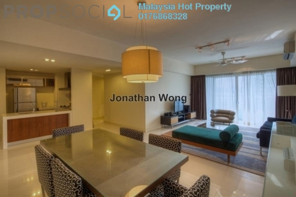 For Sale Condominium at Tiffani Kiara, Mont Kiara Freehold Fully Furnished 3R/4B 1.3m
