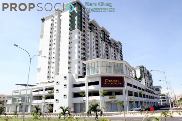 For Sale Condominium at Pearl Avenue, Kajang Freehold Semi Furnished 3R/2B 435k