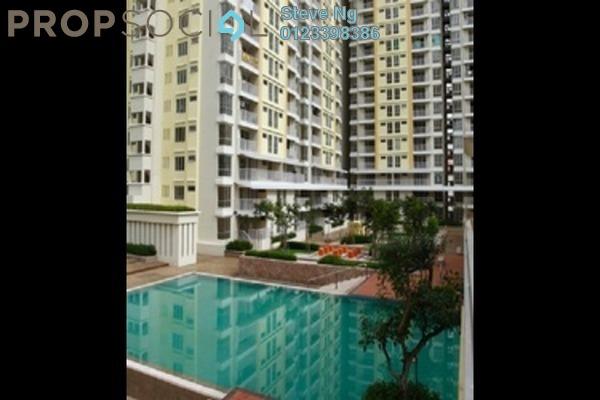 For Rent Condominium at Platinum Lake PV15, Setapak Leasehold Semi Furnished 3R/2B 2.1k
