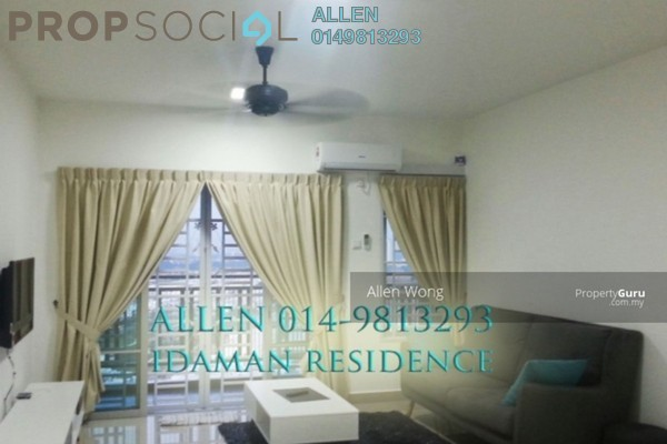 For Rent Apartment at Idaman Residence, KLCC Freehold Fully Furnished 3R/3B 2.2k