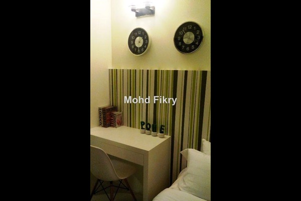 For Sale Apartment at Aspire Residence, Cyberjaya Leasehold Semi Furnished 3R/2B 395k