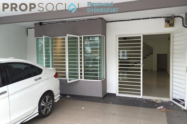 For Sale Terrace at Taman Bayu Perdana, Klang Freehold Semi Furnished 4R/3B 548k