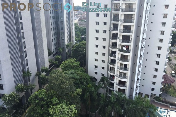 For Sale Condominium at Jasmine Towers, Petaling Jaya Freehold Fully Furnished 3R/2B 850.0千