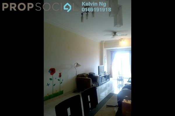 For Rent Condominium at Vista Mutiara, Kepong Leasehold Fully Furnished 3R/2B 1.4k