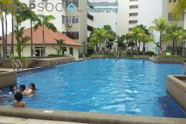 For Sale Serviced Residence at Fortune Perdana Lakeside, Kepong Leasehold Fully Furnished 3R/2B 480k