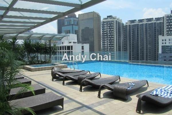 For Sale Condominium at The Signature, Sri Hartamas Freehold Unfurnished 1R/1B 660k