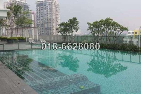 For Rent Condominium at Gateway Kiaramas, Mont Kiara Freehold Fully Furnished 1R/1B 2.5k