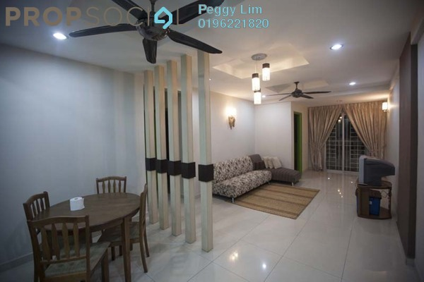 For Sale Condominium at Nilam Puri, Bandar Bukit Puchong Freehold Semi Furnished 3R/2B 388k