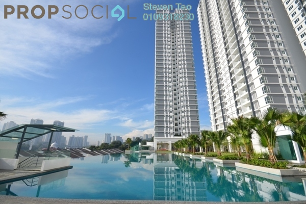 For Sale Condominium at Scenaria, Segambut Freehold Unfurnished 3R/3B 810k