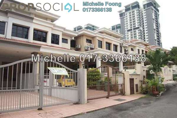 For Rent Terrace at Happy Garden, Old Klang Road Freehold Fully Furnished 7R/4B 3.5k