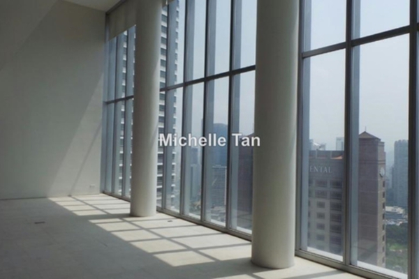For Sale Duplex at One KL, KLCC Freehold Unfurnished 4R/4B 5.26m