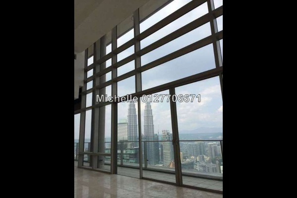 For Sale Duplex at Pavilion Residences, Bukit Bintang Leasehold Semi Furnished 4R/4B 12.7m
