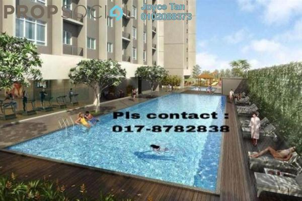 For Sale Condominium at Platinum Hill PV3, Setapak Freehold Semi Furnished 3R/2B 475k