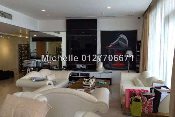 For Sale Condominium at K Residence, KLCC Freehold Fully Furnished 3R/5B 3.8m