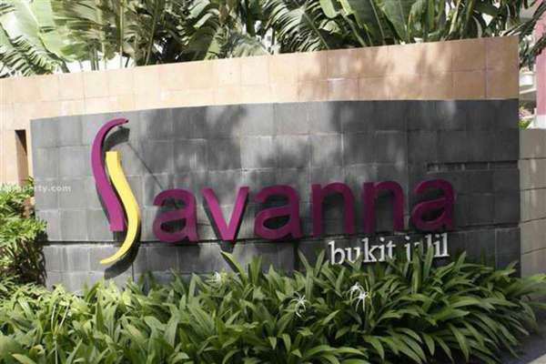 For Rent Condominium at Savanna 1, Bukit Jalil Leasehold Fully Furnished 3R/2B 2.6k