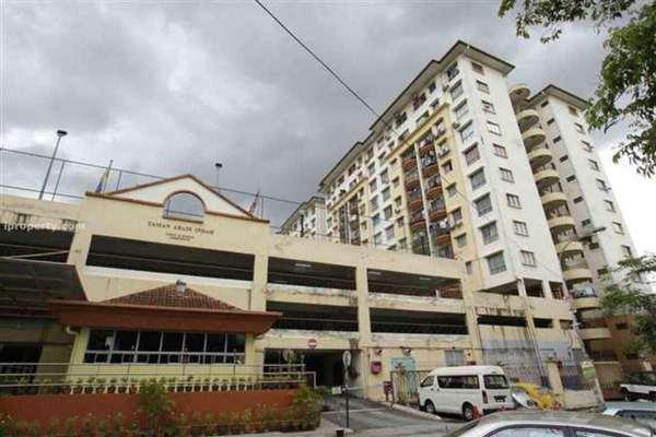 For Rent Apartment at Taman Abadi Indah, Taman Desa Leasehold Fully Furnished 3R/2B 1.3k