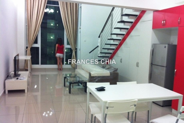 For Rent Duplex at The Scott Soho, Old Klang Road Leasehold Fully Furnished 1R/2B 1.9k