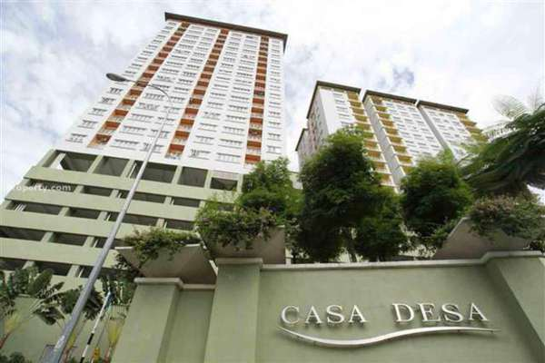 For Rent Duplex at Casa Desa, Taman Desa Leasehold Fully Furnished 2R/2B 2.7千