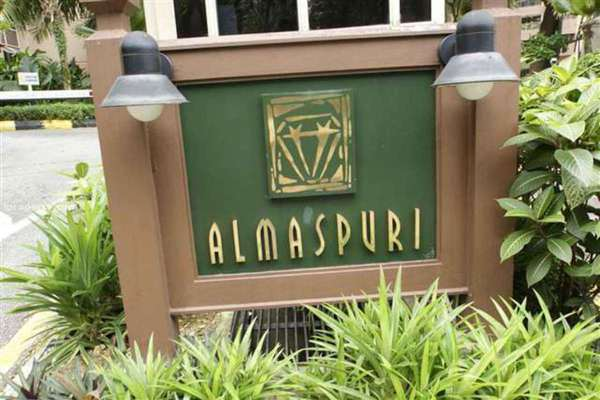 For Rent Condominium at Almaspuri, Mont Kiara Leasehold Fully Furnished 3R/3B 4k
