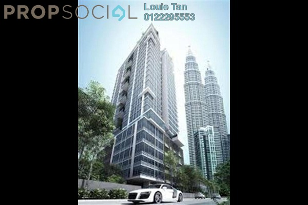 For Rent Condominium at Mirage Residence, KLCC Freehold Semi Furnished 3R/4B 5.8k