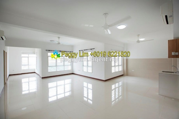 For Sale Condominium at 1 Desa Residence, Taman Desa Freehold Semi Furnished 4R/3B 638k