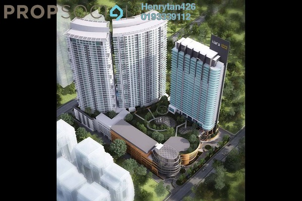 For Sale SoHo/Studio at Kiara 163, Mont Kiara Freehold Unfurnished 0R/1B 525k