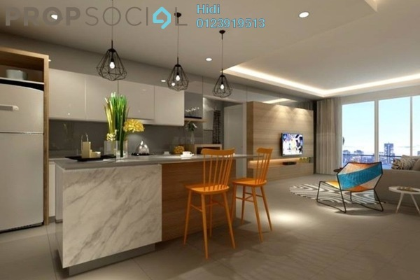 For Sale Serviced Residence at Biji Living, Petaling Jaya Freehold Semi Furnished 0R/1B 447.0千