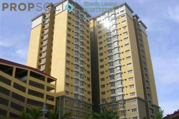 For Rent Condominium at Puncak Banyan, Cheras Freehold Semi Furnished 3R/2B 1.1k