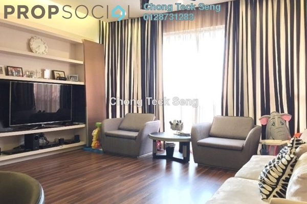 For Rent Serviced Residence at VERVE Suites, Mont Kiara Freehold Fully Furnished 3R/3B 8k