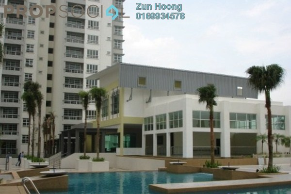 For Rent Condominium at Sterling, Kelana Jaya Leasehold Semi Furnished 4R/4B 3k