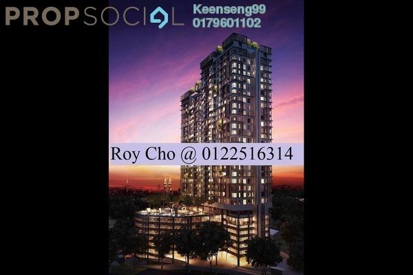 For Sale Serviced Residence at D'Sands Residence, Old Klang Road Freehold Semi Furnished 2R/2B 575k