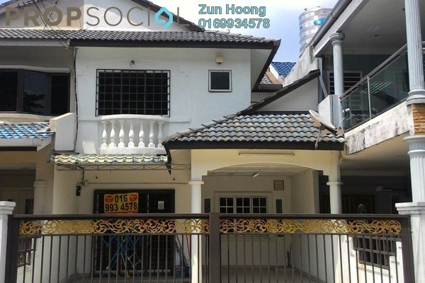 For Rent Terrace at Cheras Perdana, Cheras South Freehold Semi Furnished 4R/3B 1.5k