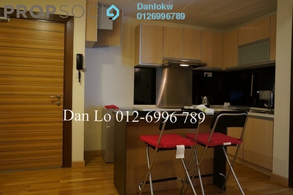 For Rent Condominium at Dua Sentral, Brickfields Freehold Fully Furnished 2R/2B 3.5k