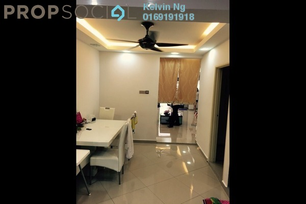 For Rent Terrace at Taman Kepong, Kepong Freehold Semi Furnished 3R/2B 1.8k