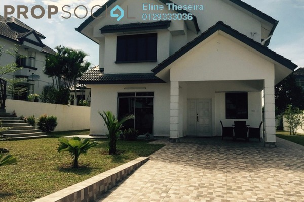 For Rent Bungalow at Bandar Country Homes, Rawang Freehold Fully Furnished 5R/4B 2.5k