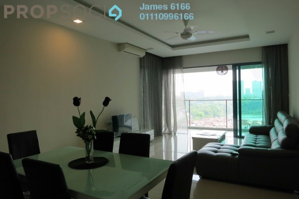For Sale Condominium at A'Marine, Bandar Sunway Leasehold Fully Furnished 3R/3B 1.3m