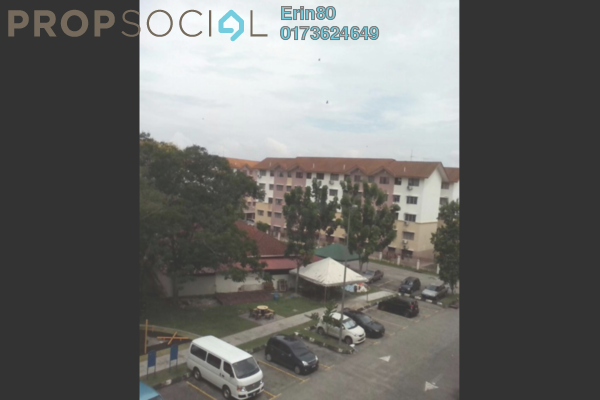 For Rent Apartment at Sri Ara Apartment, Ara Damansara Freehold Semi Furnished 3R/2B 1.2k