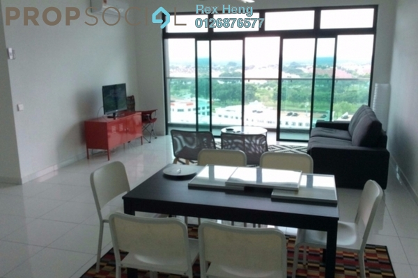 For Rent Condominium at Sky View, Bukit Indah Freehold Fully Furnished 2R/2B 3.5k