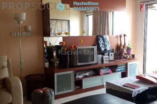 For Rent Condominium at Casa Indah 1, Tropicana Leasehold Fully Furnished 3R/3B 2.3k
