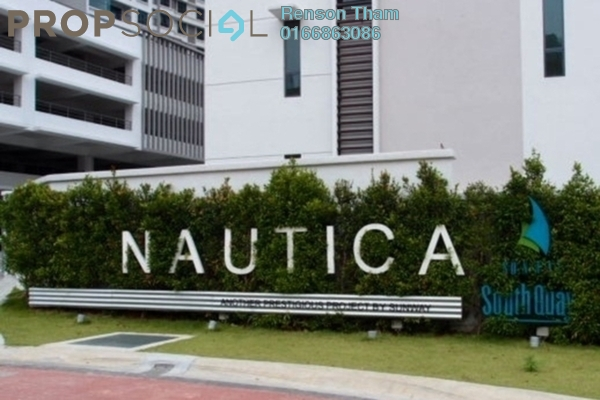 For Rent Condominium at Nautica Lake Suites @ Sunway South Quay, Bandar Sunway Leasehold Fully Furnished 3R/3B 3.3k