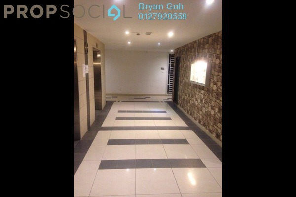 For Rent Serviced Residence at D'Ambience, Johor Bahru Freehold Semi Furnished 1R/1B 1.2k