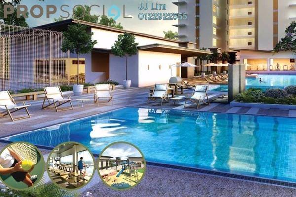 For Rent Serviced Residence at Glomac Centro, Bandar Utama Leasehold Semi Furnished 3R/2B 2.3Ribu