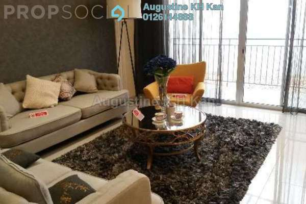 For Sale Condominium at Villa Crystal, Segambut Freehold Semi Furnished 4R/3B 815k