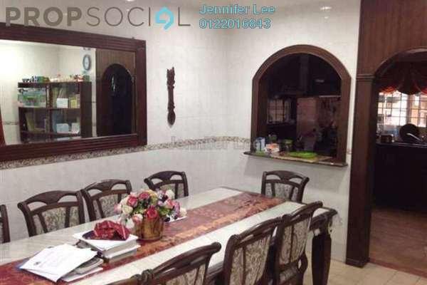 For Sale Terrace at Kemuning Bayu , Kemuning Utama Freehold Semi Furnished 4R/4B 890k