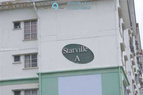 For Rent Apartment at Starville, UEP Subang Jaya Freehold Unfurnished 3R/2B 1.2k