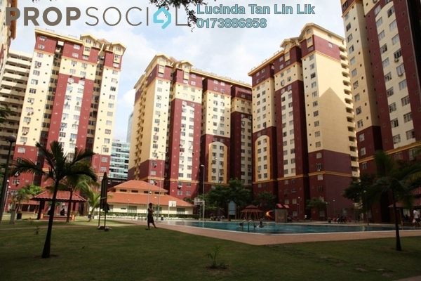 For Sale Condominium at Mentari Court 1, Bandar Sunway Leasehold Fully Furnished 3R/2B 270k