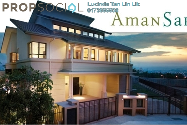 For Sale Semi-Detached at Aman Sari, Puchong Leasehold Fully Furnished 5R/5B 2.5m