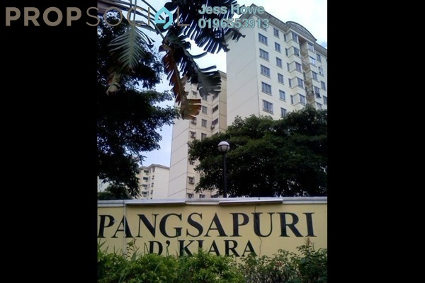 For Sale Condominium at D'Kiara Apartment, Pusat Bandar Puchong Freehold Unfurnished 3R/2B 400k